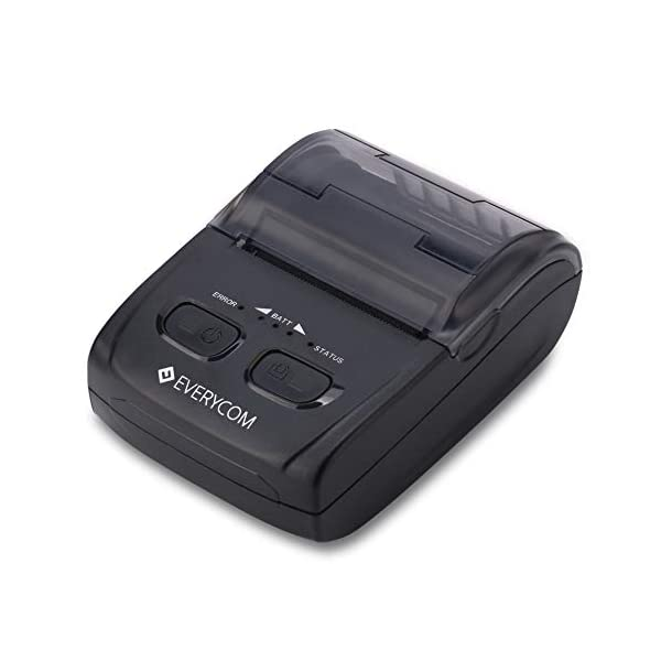 Everycom Bluetooth EC-300 Thermal Receipt Printer Compatible for Android and Windows Devices (1 Year Warranty)