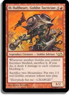 Magic: the Gathering - Ib Halfheart, Goblin Tactician - Duel Decks: Elves vs Goblins