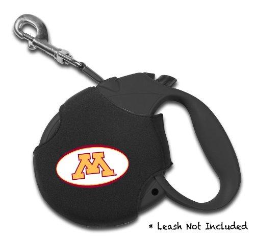 Ncaa Retractable Leash Cover (Dog Zone NCAA Retractable Leash Cover, Neoprene, Small, University of Minnesota)
