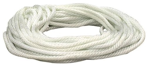 Lehigh Group N650W Lehigh Solid Braided Rope 75 Lb 50 White 75 Lb 50/' Jensen 3//16 In Dia X 50 Ft L Home Improvement