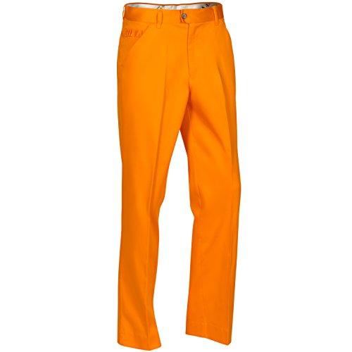 Royal & Awesome Men's Golf Pants, Orange Slice, 34W x 32L