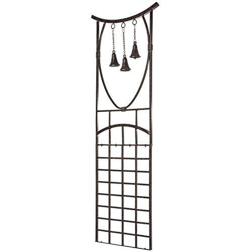 H Potter Trellis Wrought Iron Weather Resistant Garden Yard Art -