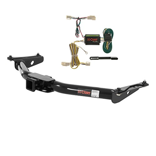 Curt 13157-55341 Trailer Hitch and Wiring Package (2000 Toyota Four Runner Hitch compare prices)