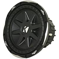 Kicker 10cvx10-2 Ohm Round 10-Inch Subwoofer with 1,200 Watts Peak and 600 Watts RMS