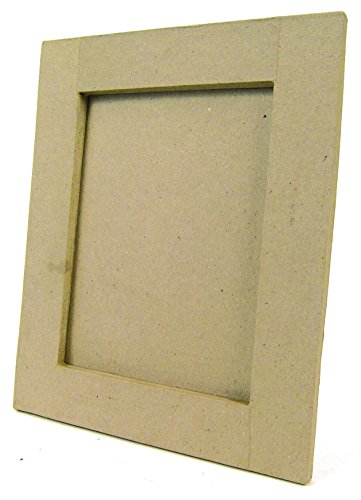 décopatch Mache Standing Square Frame, 2 x 23 x 28 cm, Brown