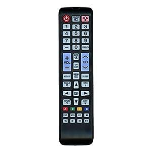 Replacement Remote Controller fit for UN24H4000 UN24H4000AF UN28H4000 Samsung LED TV (2014 Model)