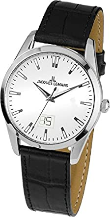 95cb5e6129e6 Amazon.com  Jacques Lemans Liverpool 1-1828B Mens Wristwatch Classic ...