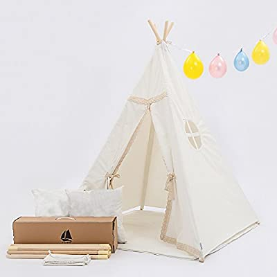 amazon teepee tent instructions