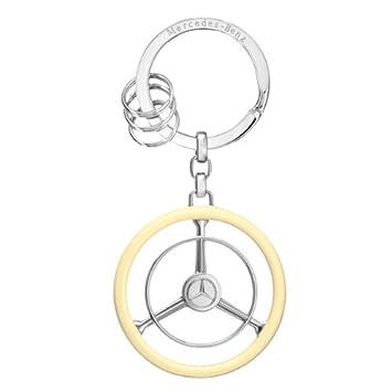 Amazon.com: Auténtica Mercedes Benz Volante clave Cadena ...