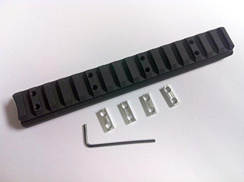 KSG Kel-Tec #1 Extended Aluminum Lower Safety Rail - By Hi-Tech Custom (Black) (Lower Rail)