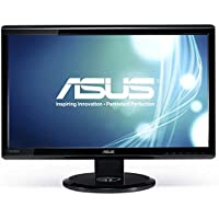 Asus Computer International - Asus Ve248q 24 Led Lcd Monitor - 16:9 - 2 Ms - Adjustable Display Angle - 1920 X 1080 - 16.7 Million Colors - 250 Nit - 50,000,000:1 - Full Hd - Speakers - Hdmi - Vga - Displayport - 35 W - Black - Energy Star, Rohs, Weee Product Category: Computer Displays/Monitors
