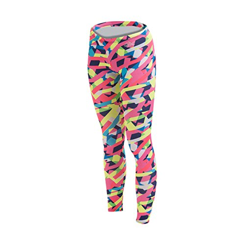 Dolfin Women's Uglies Drag Tights Sprinter-PNK/GRN -