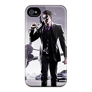 Iphone 4/4s Case, Premium Protective Case With Awesome Look - Saints Row 3