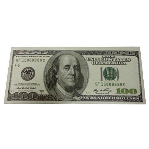 100 Dollar Bill - Ru Xing 100 Dollar Bill Design Mighty Wallet Canvas Billfold Wallets