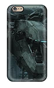 High Quality LightTower Metal Gear Rex Skin Case Cover Specially Designed For Iphone - 6