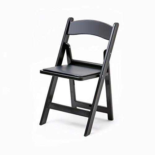 Black Resin Folding Chair - 7
