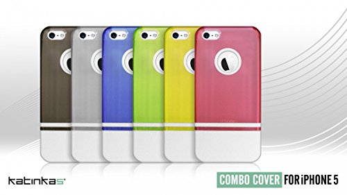 Katinkas KATIP51146 Hard Cover für Apple iPhone 5 Combo grün