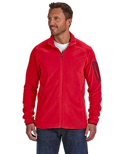 Marmot Men's Reactor Jacket, Medium, TEAM RED