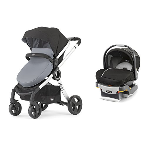 Chicco 6-in-1 Urban Modular Stroller + Infant Car Seat and Base Travel System