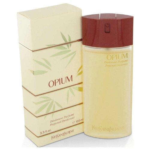 OPIUM by Yves Saint Laurent Deodorant Spray 3.3 oz for Women