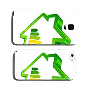 House Icon Energy Green cell phone cover case iPhone5
