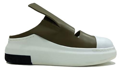 CINZIA ARAIA Zapatillas de Piel Para Mujer Beige Tórtola Beige Size: 38 EU: Amazon.es: Zapatos y complementos