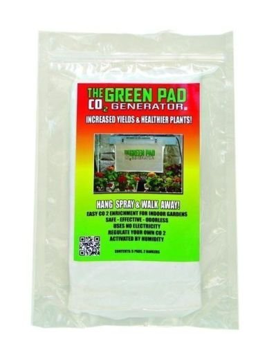 The Green Pad CO2 Generator Hydroponic Sheets Indoor Maximizer, 5 Pack by HYDROPONICA