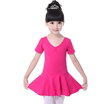 Amazon.com: brandchef (TM) las niñas Kids leotards Vestido ...