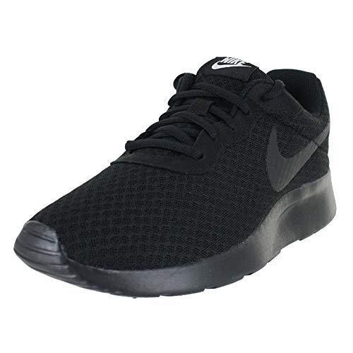 Nike Women's Tanjun Running Shoes Black/Black/Black 9 B(M) US