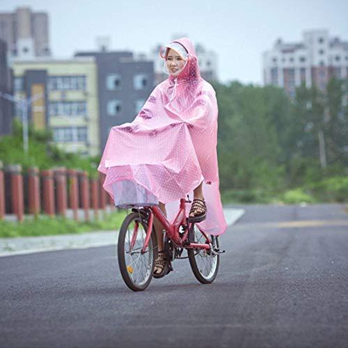 Imperméable Femmes Léger Mode Pluie Capuche De Fille Pink Veste Poncho Pour Extérieur Transparent Classique PqtTxgnfw