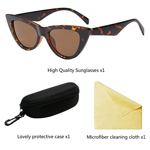 PC de Gafas Eyewear Pequeñas Gafas Zhhlaixing Lens Personalidad Black Eyes para Cat Style Moda Mujer Sol WqWOvIB