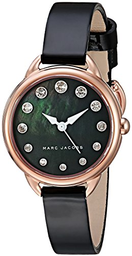 Marc Jacobs Women's Betty Black Patent Leather Watch - MJ1513