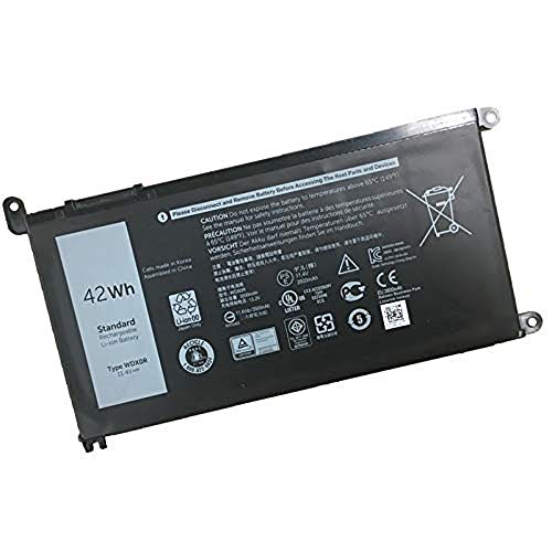 JIAZIJIA Replacement Laptop Battery For DELL WDX0R(11.4V 42Wh)Inspiron 15 5568 7560 5567/13 7368 Series Inspiron 13 5378 14-7460 17-5770 Inspiron 13 5379 Inspiron 15 7570 Series ()