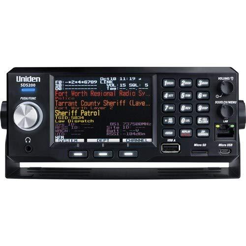 Uniden SDS200 Advanced X Base/Mobile Digital Trunking