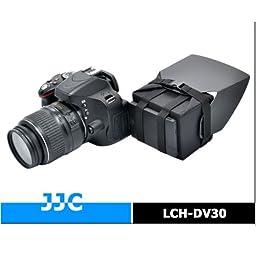 JJC LCH-DV30 Collapsible LCD HOOD For Canon XF300 XF105 XF100 XA25 XA20 XA10 T5I T4I , Nikon , Panasonic , Fuji , Sony cameras and Video