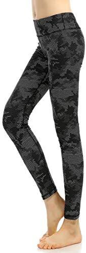 ヨガウェア ヨガのズボンランニングエクササイズ朝のランニングスリム高弾性デジタル印刷パンツ女性のハイウエスト速乾性ランニングパンツおなかコントロールパワーストレッチヨガレギンス
