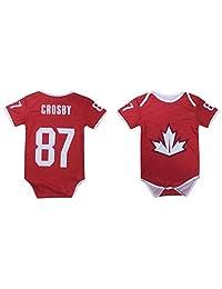 Sidney Crosby #87 Team Canada Hockey Baby Jersey Romper Infant Toddler Onesie Premium Quality