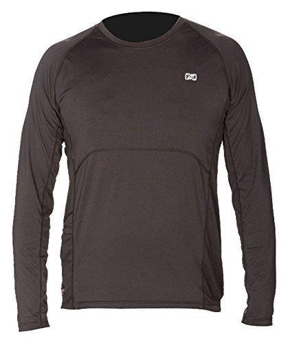 Mobile Warming Unisex-Adult Longman Heated 7.4v Shirt (Black, X-Large)