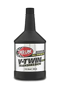 Red Line Oil RED42804 V-Twin Transmission Oil with Shockproof Fluid, 1 quart