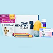 Quarterly - Wag Healthy Club - Wellness Subscription Box for Dogs - Two health care products - One toy - Treat