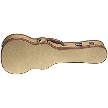 Stagg Gold Vintage Tweed Classic Shaped Hardshell Electric Guitar Case GCX-LP-GD