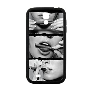 Sexy Lady Smoke Black Phone Case for Samsung Galaxy S4