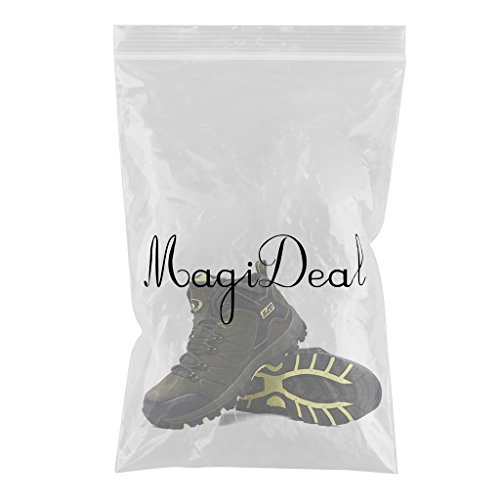 MagiDeal Unisex Mid Waterproof Outdoor Walking Hiking Trail Boots Non Slip Trekking Shoes Green 5s2cbl