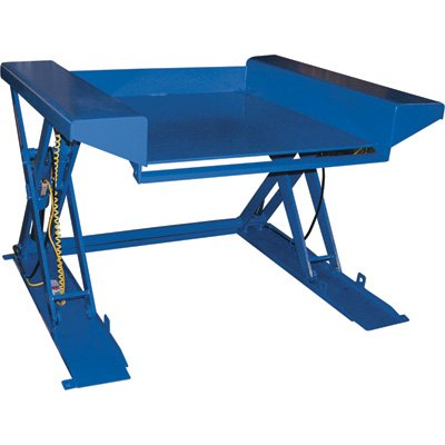 (Vestil EHLTG-4470-2-48 Ground Lift Scissor Table, 78