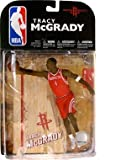 McFarlane Toys NBA Sports Picks Series 16 (2009 Wave 1) Action Figure Tracy McGrady (Houston Rockets) Red Jersey Variant