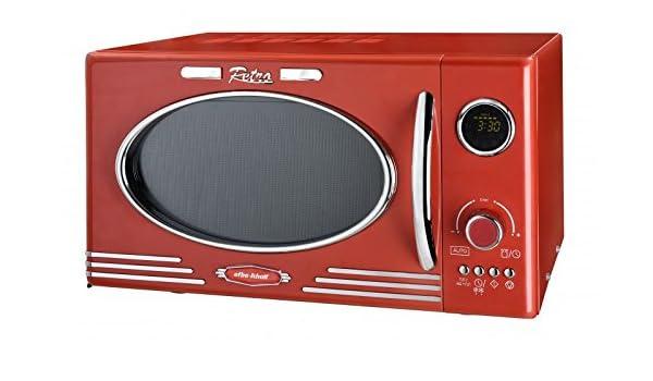 Efbe-Schott SC MW 2500 DG Retro de microondas Rojo 25 litros, 1000 ...
