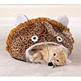 Meow Town Jungle Leopard Print Cat Cave