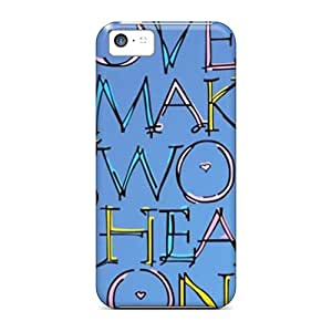 EyLCUfW5262LjZly Case Cover, Fashionable Iphone 5c Case - Love