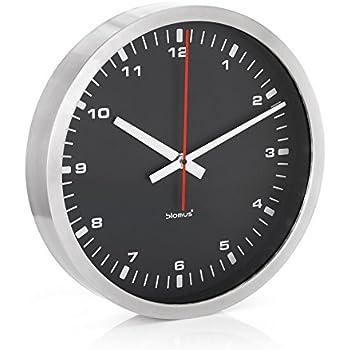 Amazon.com: Mondaine 40cm Wall Clock - White Dial - Silver