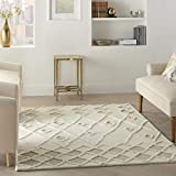 Nourison Moroccan Court Abstract Ivory 5' x 7' Area